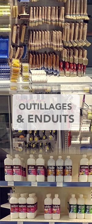 outillage enduit