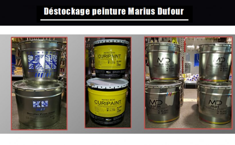 destockage peinture