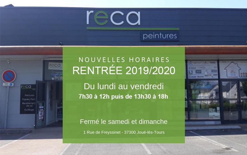 horaires-reca-peintures-tours-rentree-2019