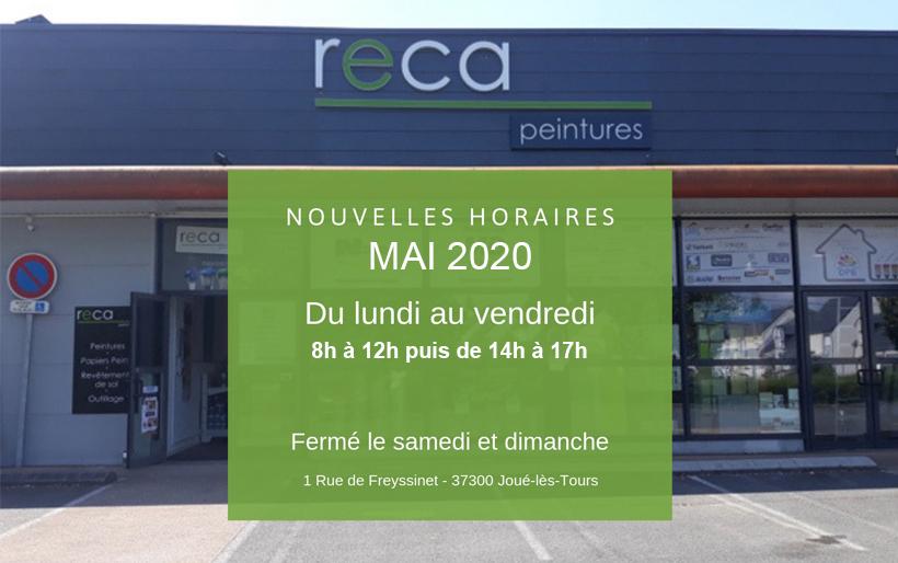 horaires-reca-peintures-tours-mai-2020
